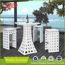 Wicker Rattan Patio Bar Set, Bar Chair (DH-9577)