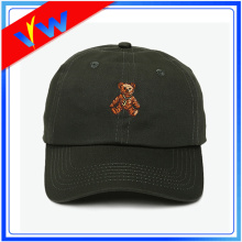 Custom Flat Embroidery 6 Panel Baseball Cap