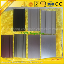 Profilé en aluminium de plancher de remorque d'aluminium d'extrusion d'OIN 9001