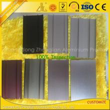 ISO 9001 Aluminium Extrusion Aluminum Trailer Flooring Profile