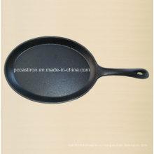 Поставка кухонной посуды из литого железа Mini Server с ручкой