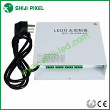 Stable quality 4/8 ports AC100-240V strip led rgb dmx 512 rgb DMX LED Controller