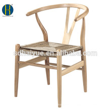 Natural ASH/OAK Solid Wooden Bedroom Chair for Living Room Furniture