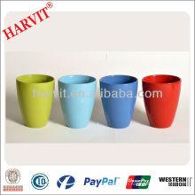 Dolomite Painting Planter / Porcelain Color Glaze Flower Pot Pot Pot / Vente en gros Différents types Garden Bulk Flower Pots