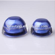 Gewölbte Form Acryl Kosmetik Creme Jar 5ml 15ml 30ml 50ml