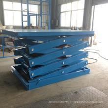 plancher de levage durable d'ascenseur de voiture de ciseaux de performance, mini ascenseur de voiture de ciseaux