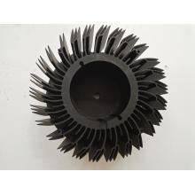 Precision Black Anodizing Aluminum Fan Fitting Parts