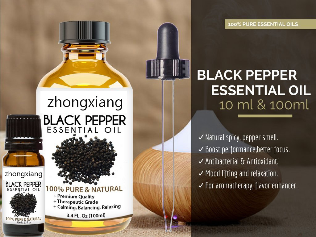 Black Pepper Oil OEM ODM Wholesale