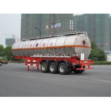 3 Axles 38000l Liquid Tank Truck Semi-trailer Tanks For Transport Diesel