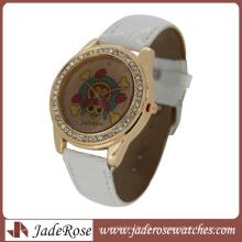 Reloj de cuarzo de moda pirata