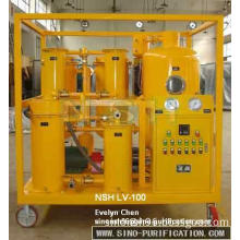Vacuum Hydraulic Oil purifier, oil filtration, oil recycling system