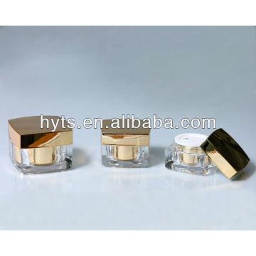 pot acrylique carré d'or