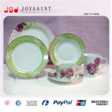 O projeto personalizado cerâmicas armazenadas ajustou o jogo 16PCS do jantar da porcelana 20 PCS 30PCS