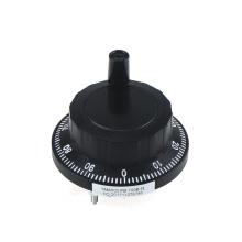 Encodeur manuel noir de commande manuelle de conducteur de ligne de la machine 100PPR de commande numérique par ordinateur