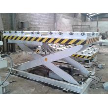 Máquina automática completa de la tabla de elevación de la carpintería de China