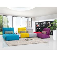 Canapé en tissu de salon moderne Mobilier populaire