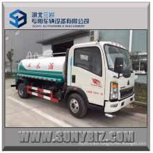 Sinotruk HOWO 6000L Light Water Watering Tank Truck