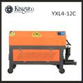YXL4-12C barra de enderezar el corrugado CNC completamente automático, máquina de enderezamiento hidráulico