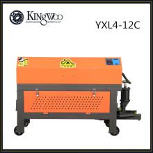 YXL4-12C Fully automatic CNC rebar straightening cutting machine, hydraulic straightening machine