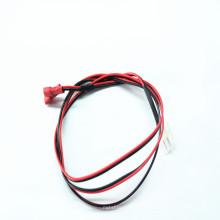 Cable de cable del conjunto del cable de alimentación de la base 2pin 2 cable eléctrico
