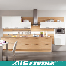 European Style Nature Colour Kitchen Cabinets Furniture (AIS-K295)
