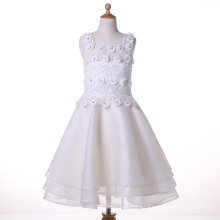 Organza / Chiffon Designer Blumenmädchen Kleid für Hochzeit und Zeremoniell