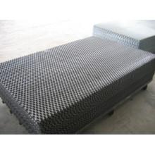 Panel de malla metálica expandida industrial