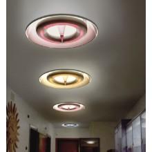 Lámpara de techo de aluminio contemporánea del salón del acero de carbón de Acryl (732C)