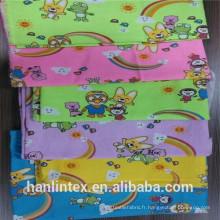 Vente en gros de coton imprimé en flanelle en usine à vendre en flanelle en tissu imprimé