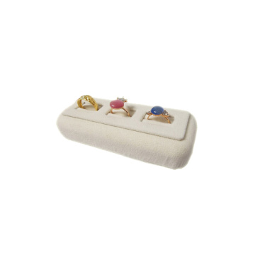 Beige 3 Ring Inlays Display Stand (RS-R3-BV)