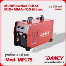 175Amps pulse mig welders MIG TIG MMA multi function