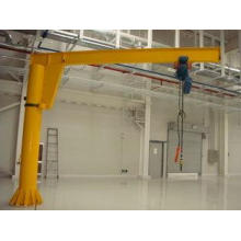 1 ton, 2 ton Freestanding Electric Jib Crane With Wire Rope