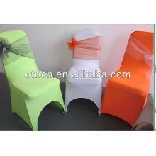 Organza sash for chiavari chair cover, decorative crystal sash for chair cover