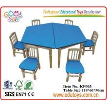 Kindergarten furniture--preschool table and chairs