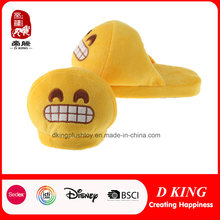 Hot Sale Peluche Stuffed Grin Emoji Slipper