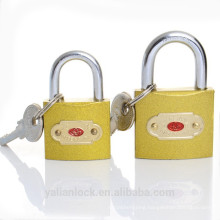 Hot Sale Golden Color Imitate Brass Padlock In India Market