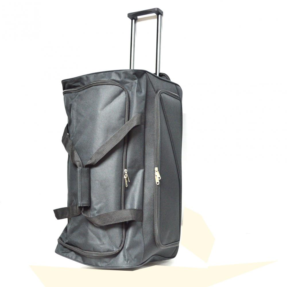 Black Trolley Duffle Bag