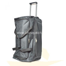 Hot Sale Black Trolley Duffle Bag