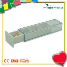 Caixa de pílula Daily Pocket PP