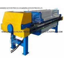 Imprensa de filtro Recessed membrana da placa, membrana que espreme a imprensa de filtro da operação