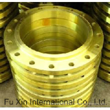 Forged Steel Slip on Flange (yellow paint)