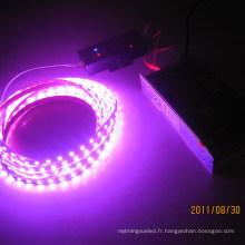 Lampe flexible à LED couleur rose