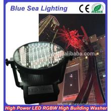 GuangZhou 100pcs x 10W luz de inundação ao ar livre 1000w