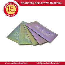 Professional Reflective Embossed Logo Leather Label