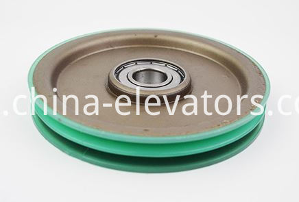 Door Hanger Roller for OTIS elevators 140*20*6204 dual-groove