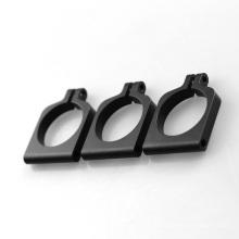 Braçadeiras de alumínio para tubos de plástico