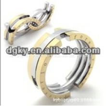Europa estilo cirúrgico aço inoxidável glória jóias pulseira