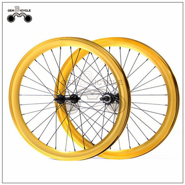 700C 40mm fix double-walled aluminum wheelset4