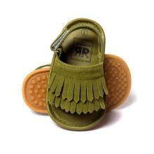 Sandalias de moda Baby First Walker Mocasines para niños pequeños suela blanda