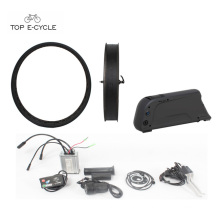 500W Bafang fat tire ebike kit part e bike conversion kit with down tube battery